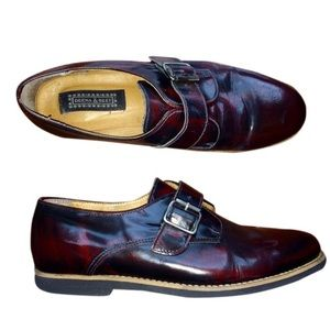 Patent Leather Oxfords Loafers w. Buckle TOP SHOP